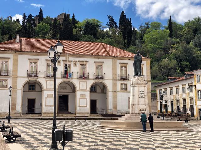 Praça da República en Tomar (Portugal)