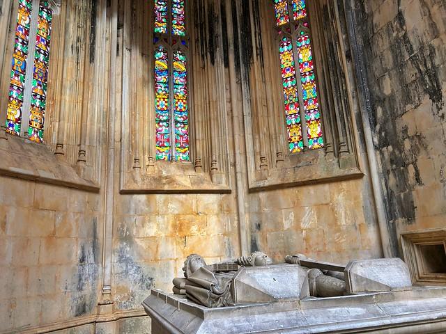 Capillas imperfectas del monasterio de Batalha (Portugal)