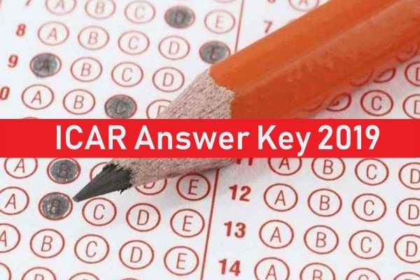 ICAR Answer Key 2019
