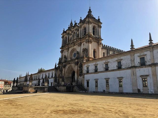 Monasterio de Alcobaça en el centro de Portugal (Ruta de los templarios)