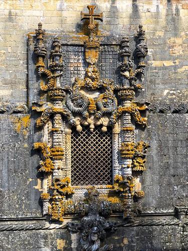 Janela do Capítulo en Tomar (La ventana manuelina más bonita de Portugal)