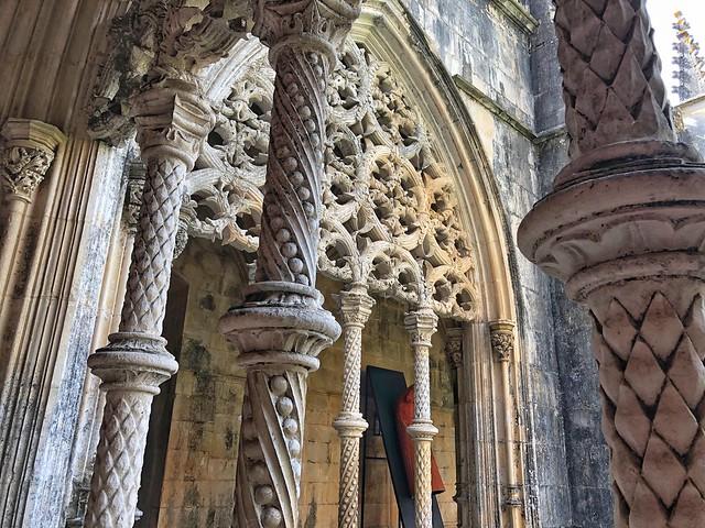 Claustro gótico del monasterio de Batalha (Portugal)