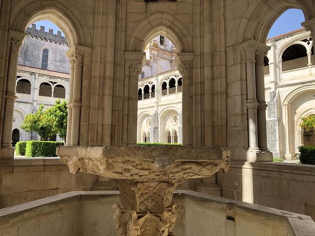 Lavatorio en el monasterio de Alcobaça (Portugal)