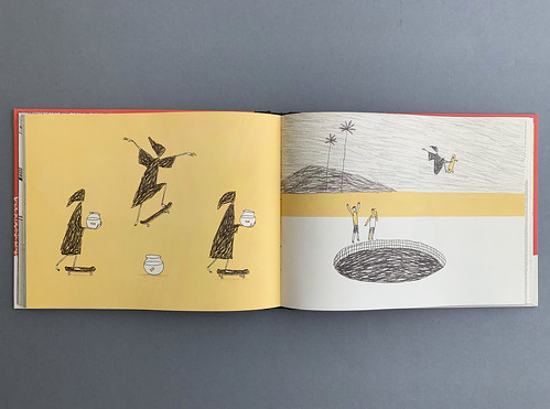 Spread from Death Wins a Goldfish