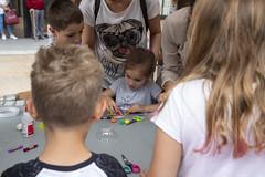Los/as más pequeños/as tuvieron la oportunidad de realizar divertidas manualidades.