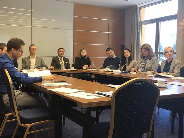 Discussion and presentation in Bratislava
