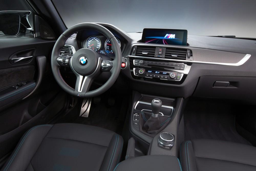 [新聞照片四] BMW M2 Competition手排版 M專屬競技化座艙