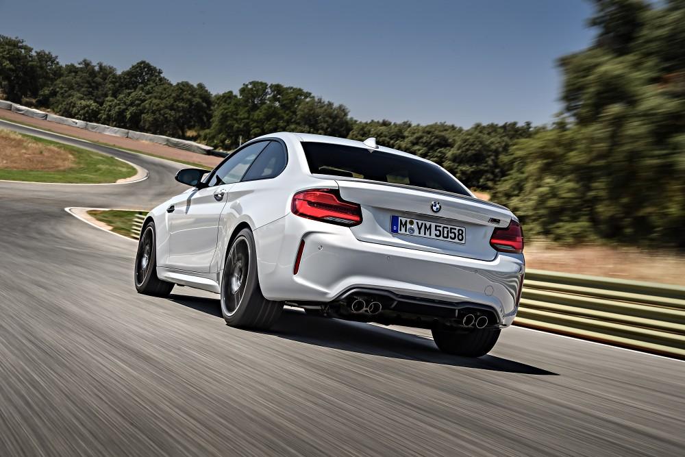 [新聞照片五] BMW M2 Competition手排版 2019年限時限量生產