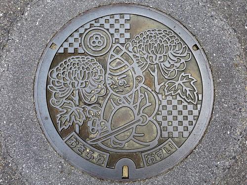 Osafune Okayama, manhole cover (岡山県長船町のマンホール)
