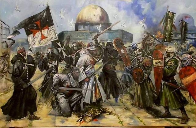 Templarios en Tierra Santa