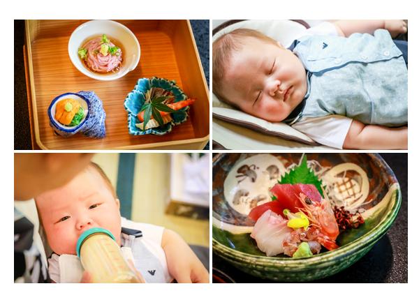 赤ちゃん 哺乳瓶でミルクを飲む 寝顔