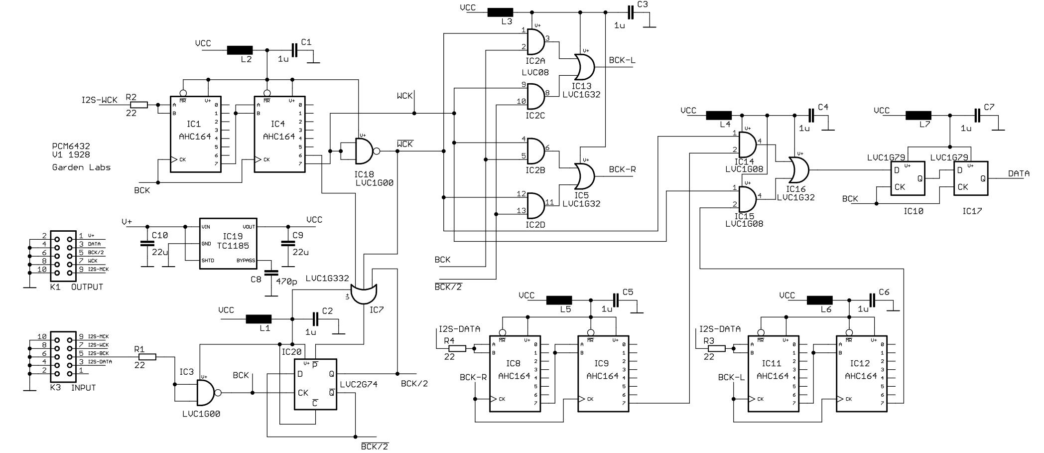 Scheda PCM6432 per TDA1541 48240227506_34dcb9b845_o_d