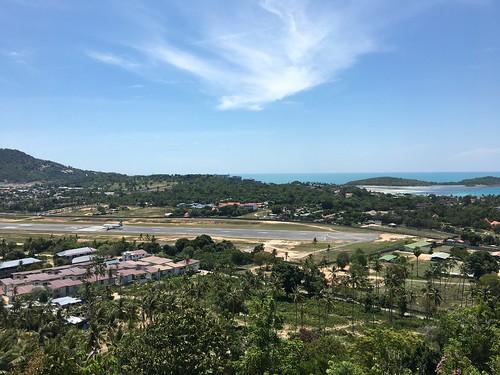 コサムイ ビックブッタ-チャウエン 展望ビューポイント koh samui runway view poinr