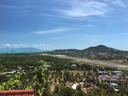 サムイ島 ビッグブッダ‐滑走路‐チャウエン展望寺院 カオフアジュック