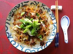 PORK CONGEE – (猪肉粥) – (PORK PORRIDGE)