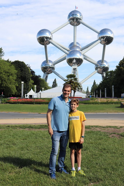 Visitar el Atomium de Bruselas