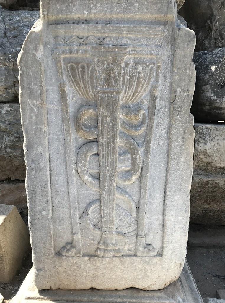 Efes單蛇杖