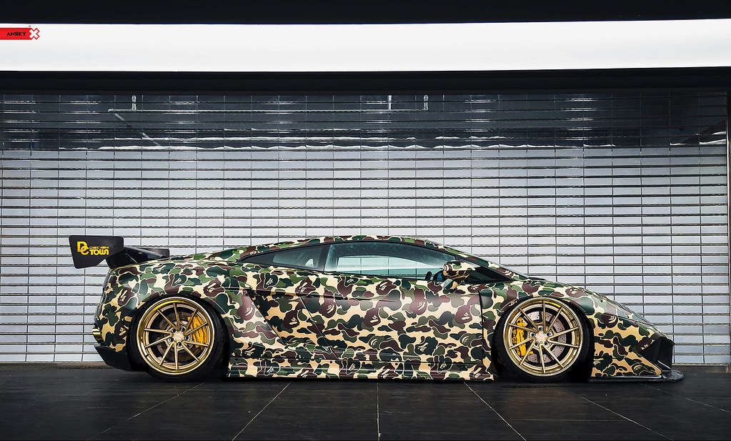 ANRKY Wheels - LibertyWalk Lamborghini Gallardo - AN33 SeriesTHREE