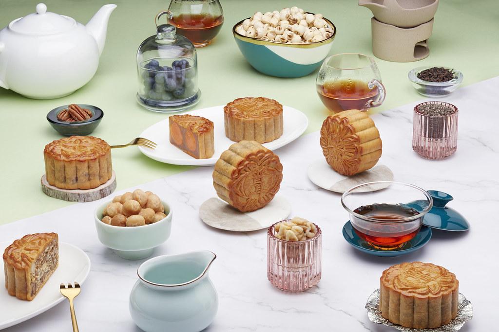 JW Marriott Singapore - Assorted Baked Mooncakes (Landscape)