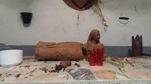 Berriatuko Madalena auzoko ermitako txikizioa