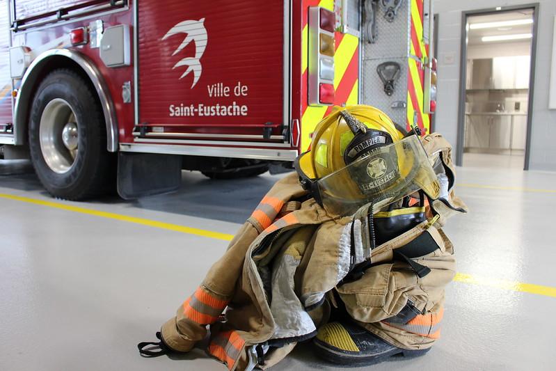 ven, 06/14/2019 - 09:01 - Caserne de pompiers de la Ville de Saint-Eustache