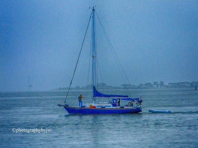 Blue Sails Blue Water