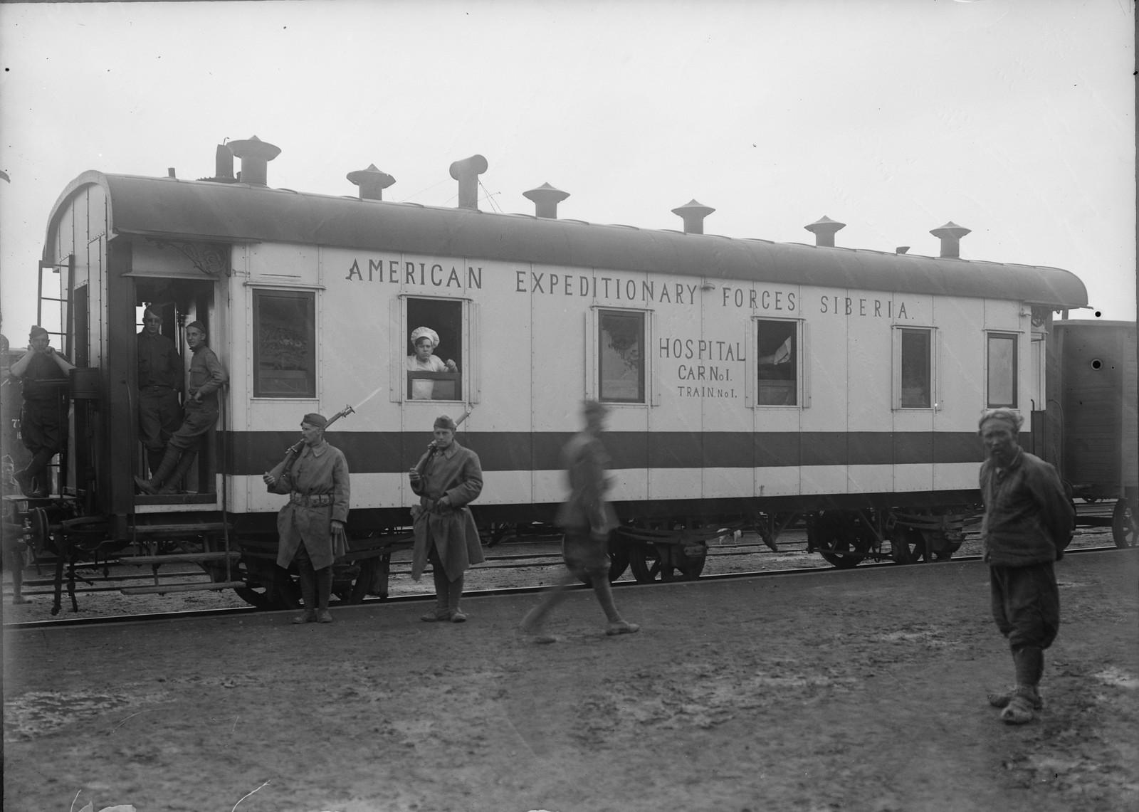 1919. Госпиталь Американского Красного Креста