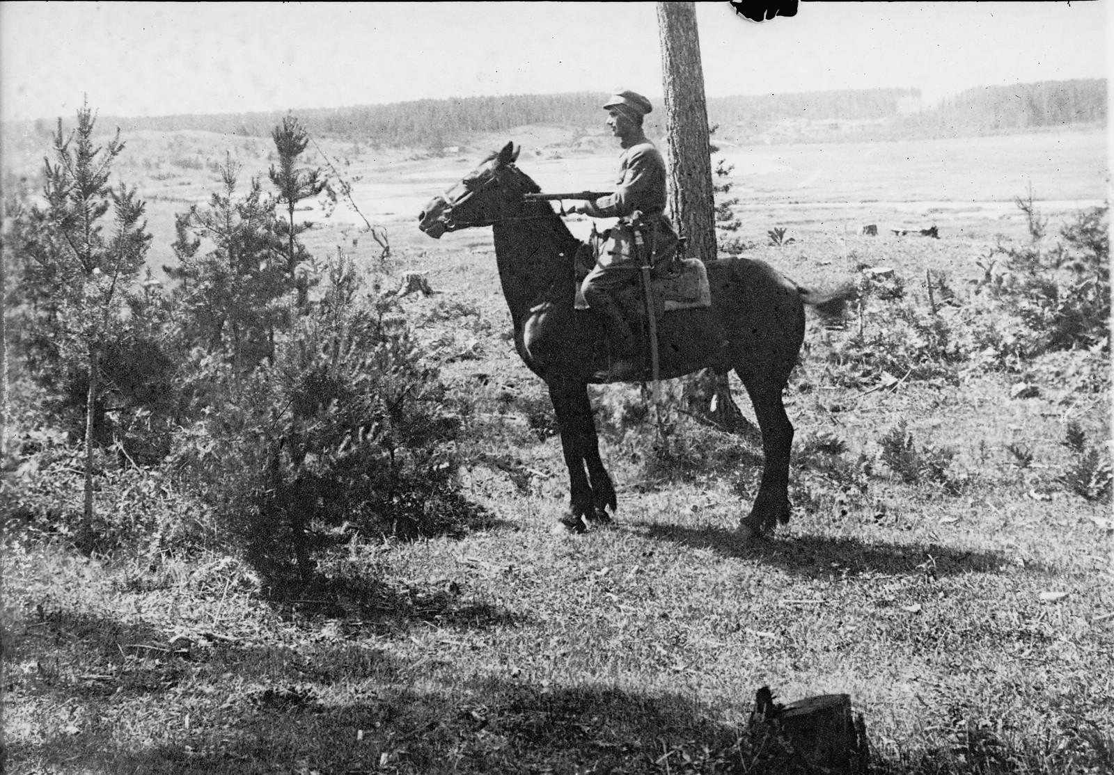 1919. Легионер в дозоре