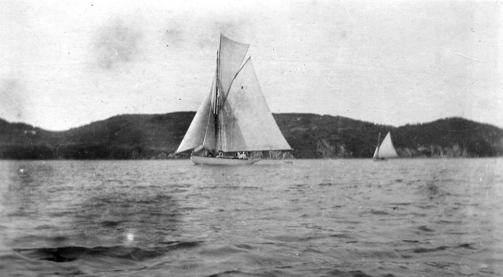 1919.  Владивосток. Возле Русского острова