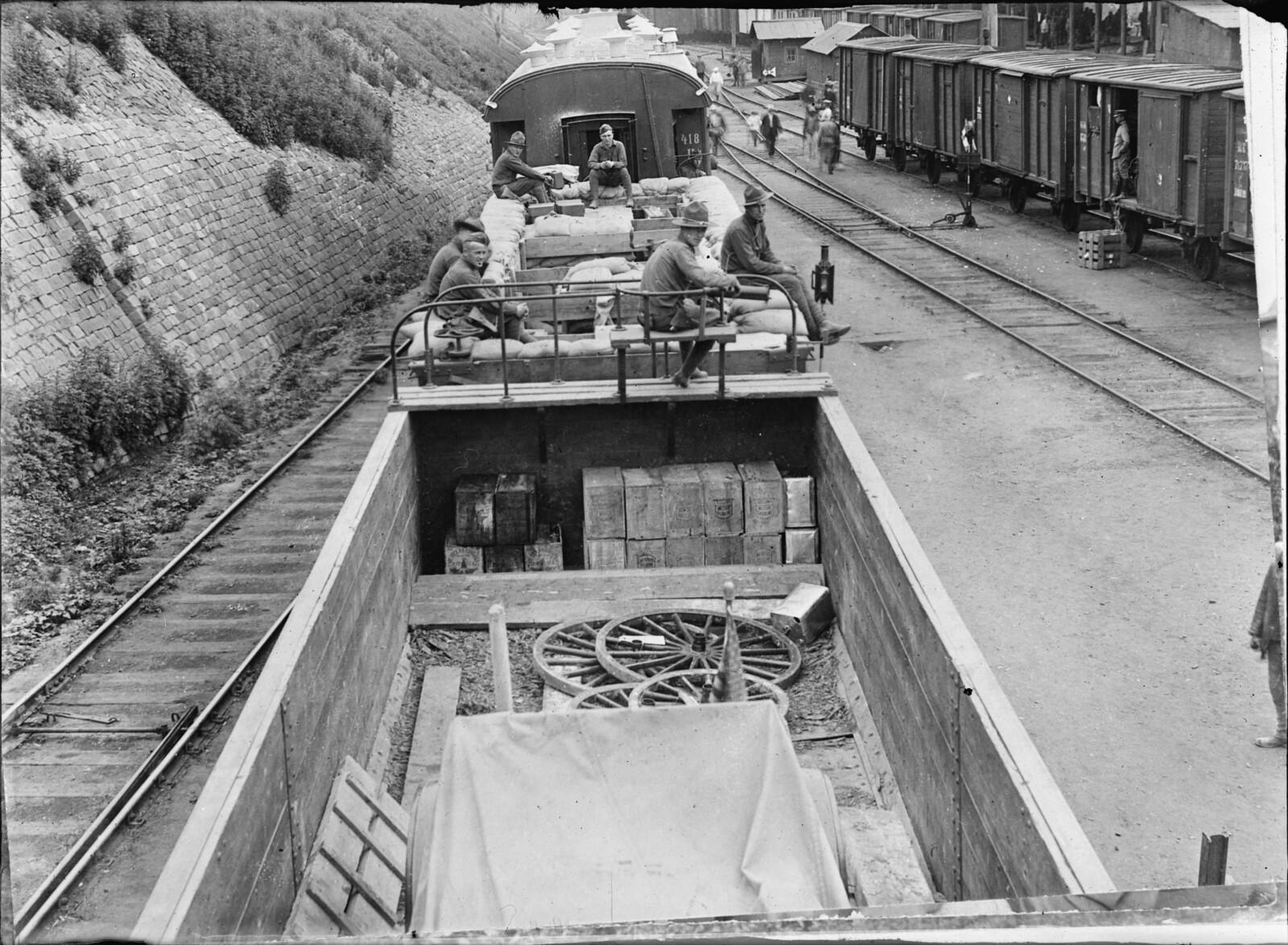 1919. Владивосток.  Поезд генерала Грейвса