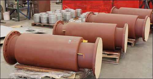 "16"" Diameter Externally Pressurized Expansion Joints for an Oil Refinery"