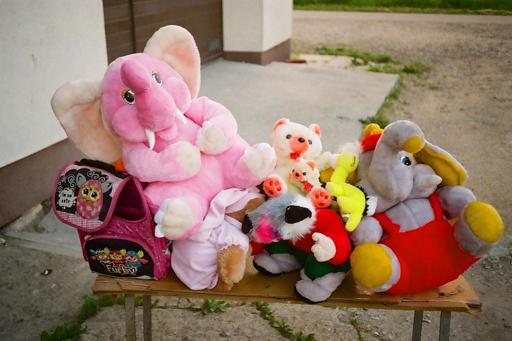 Pluszaki z Czasławia / Plush toys of Czasław