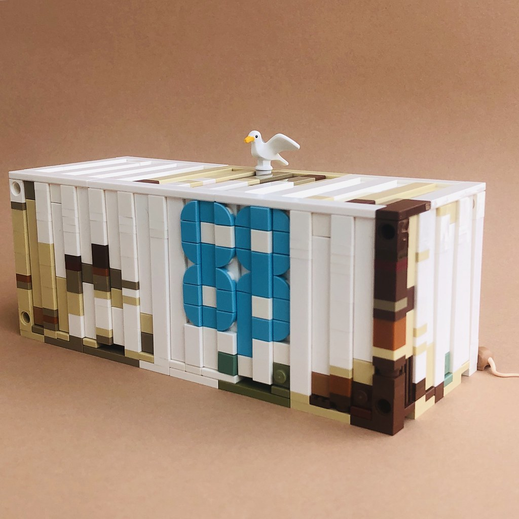 Container (custom built Lego model)
