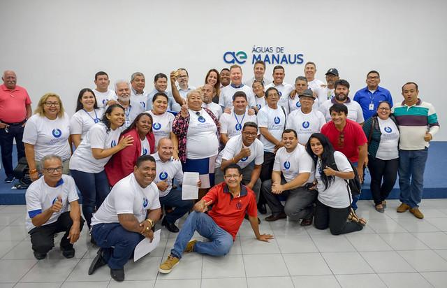 09.07.19 Prefeito Arthur visita a nova sede da aguas de Manaus