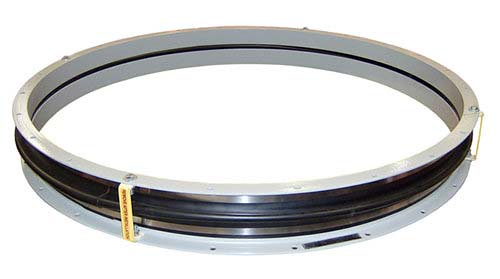 "U.S. Bellows, Inc., a Division of PT&P Designed and Fabricated a 59"" Neoprene Expansion Joint"