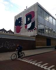 Fefe Talavera mural, Amsterdam #streetart #mural #fefetalavera