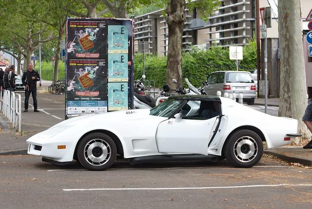 Corvette 454 weiß