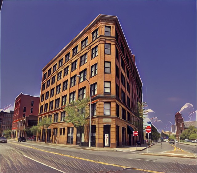Rochester New York - Kirstein Building Lofts - Historic