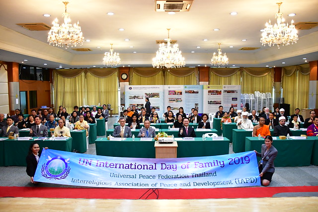 Thailand-2019-05-29-International Day of Families Commemorated in Thailand