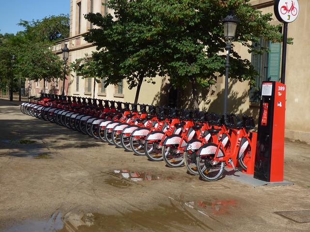 Plaça de Joan Fiveller - Parc de la Ciutadella, Barcelona - Bicing