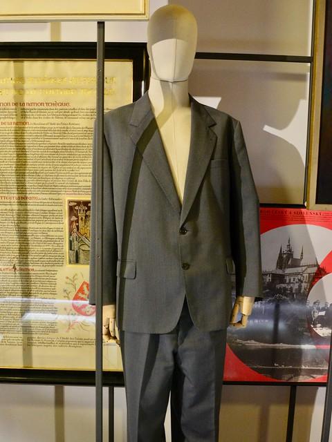 Prague 2019 – National Museum – Suit of Miloš Jakeš