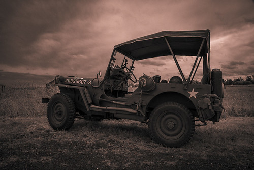 Jeep Willys Utah beach