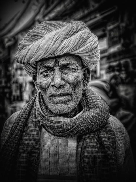India portrait series
