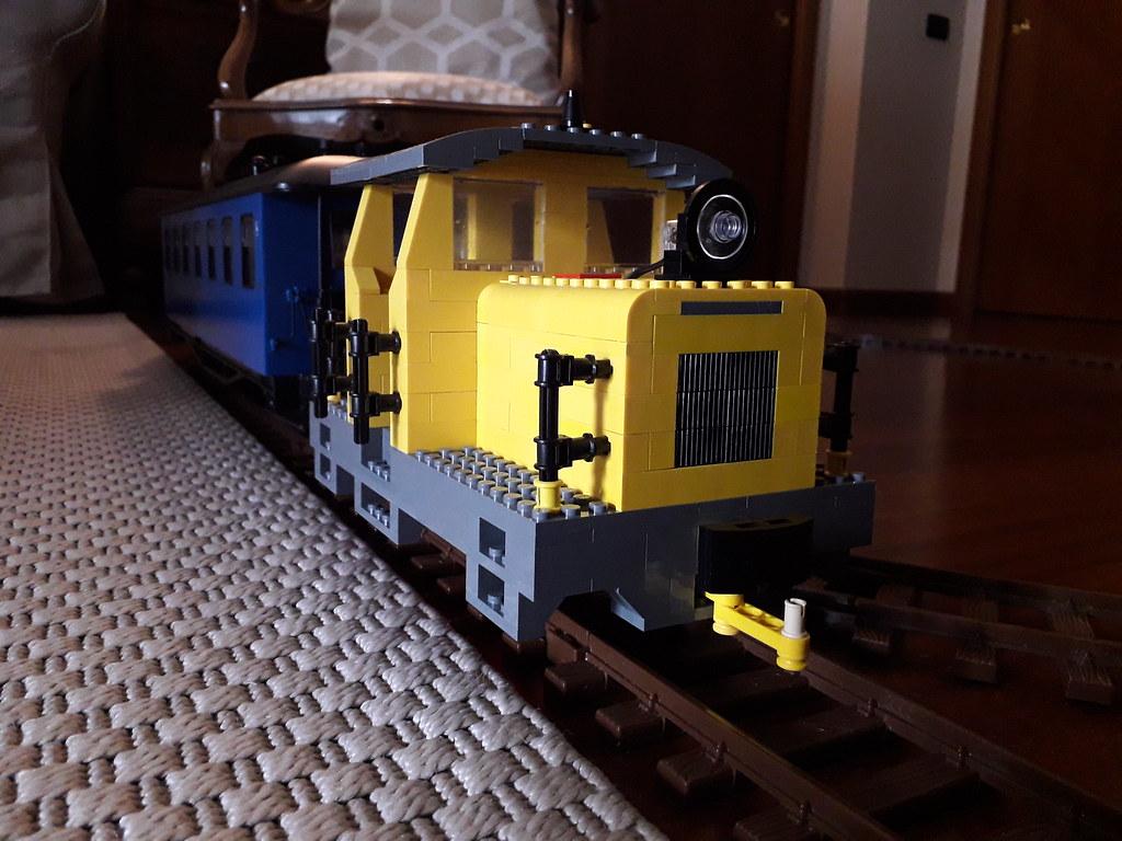 1:22,5 G-Scale Toy Train locomotive - LEGO Train Tech - Eurobricks