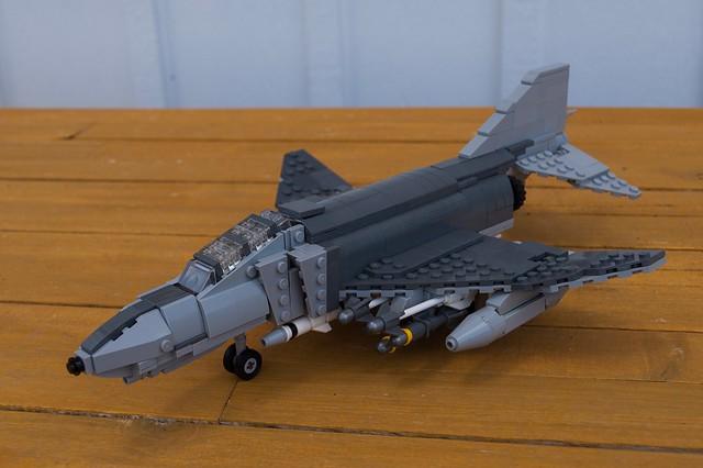 F-4E Phantom II (USAF 1980s)