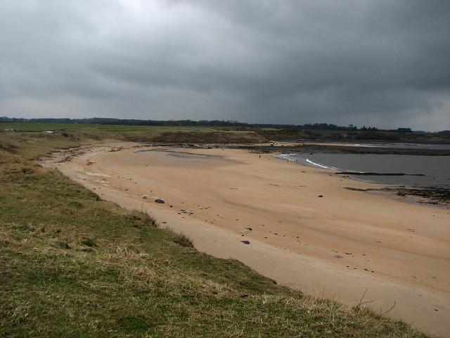 The coast near Boulmer