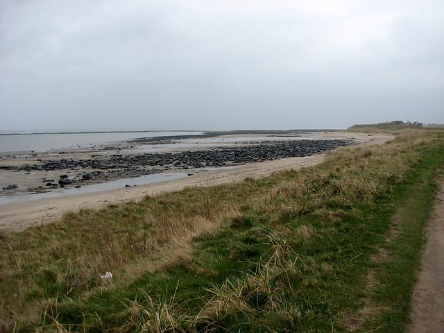 The coast south of Boulmer