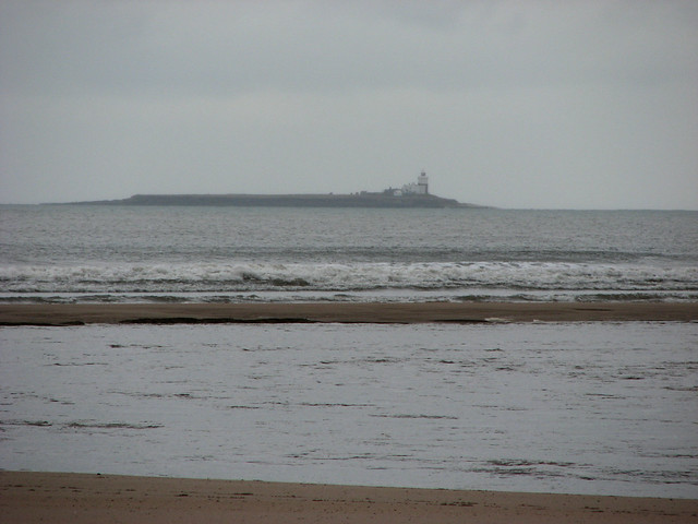 Coquet Island from Alnmouth