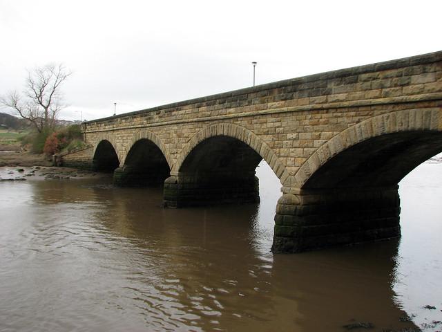 Bridge in Alnmouth