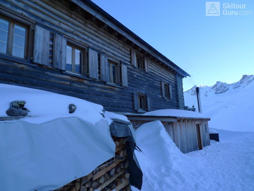 Chamanna Jenatsch / Jenatschhütte Albula Alpen Švýcarsko foto 04